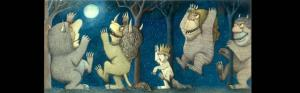 Maurice Sendak's final drawing from Where the Wild Things Are from The Rosenbach Museum & Library.