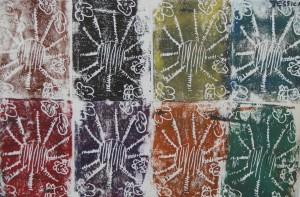 Sun Print from Summer Spree