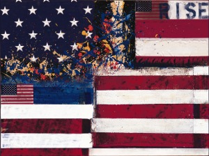 Rise painting by Bernie Taupin from prweb.com.