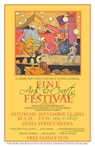 Community Arts Center's Tenth Annual Fine Arts and Crafts Festival