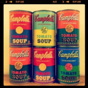 Limited edition can photo courtesy of the Campbell Soup Company.