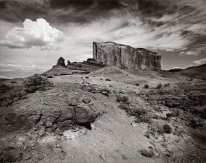 No Name Butte, Monument Valley by John A. Benigno is part of The Photographic Society of Philadelphia's 150th Anniversary Exhibit.